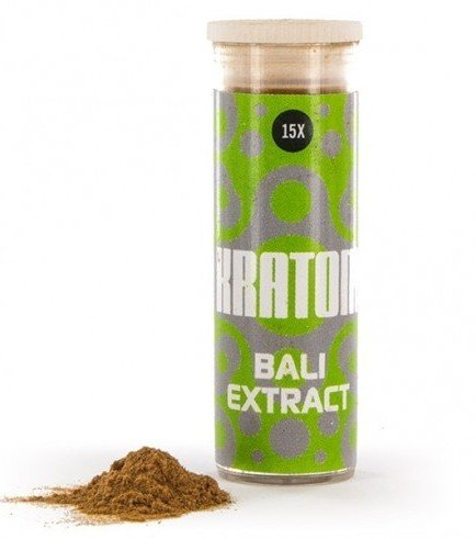 Kratom Bali 15x Extract (Mitragyna speciosa), 3 grams