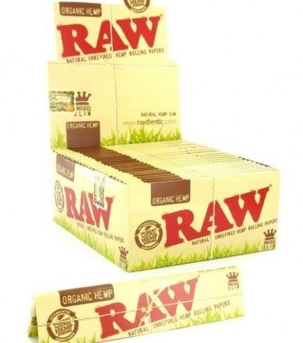 RAW Organic Hemp Rolling Papers King Size