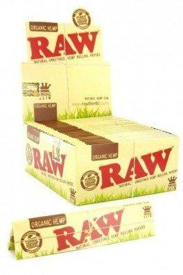 RAW Organic Hemp Rolling Papers King Size
