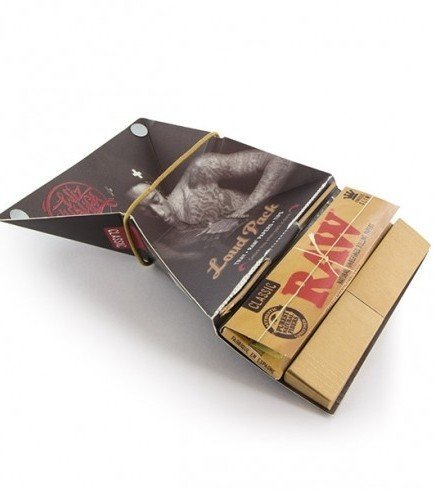 RAW Wiz Khalifa Loud Pack Rolling Papers + Tips