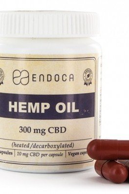 Endoca Hemp Oil Capsules (3% CBD)