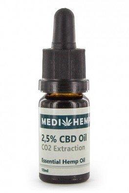Medihemp CBD Oil Raw (2.5% CBD + CBDA)