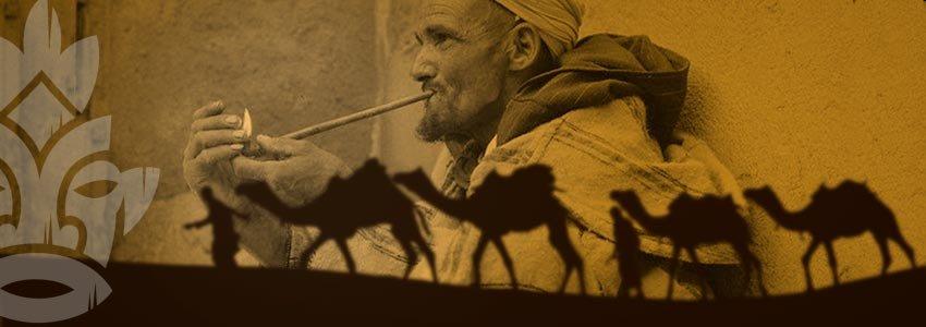Sebsi pipe Marocco