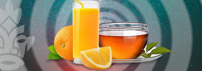 SIP ON SOME FRESH JUICES AND TEAS