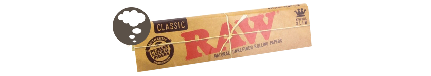 ROLLING PAPERS RAW KING SIZE SLIM