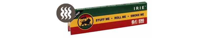 Rolling Papers Irie King Size Xtra Light Hemp