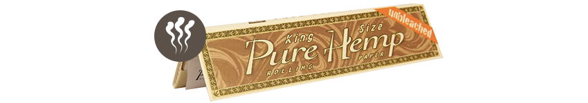 Rolling Papers Pure Hemp Unbleached King Size
