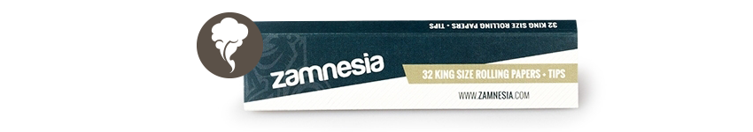 Zamnesia Rolling Papers King Size + Tips