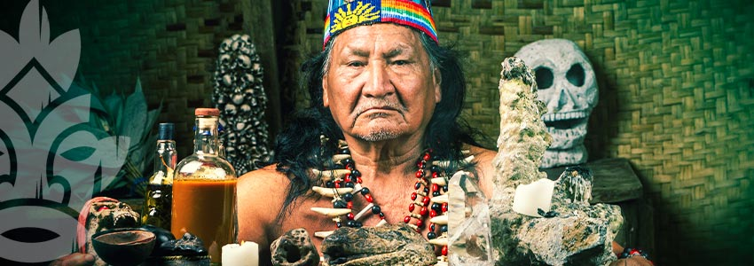 A GOOD SHAMAN WILL TELL YOU ABOUT THEIR LIFE