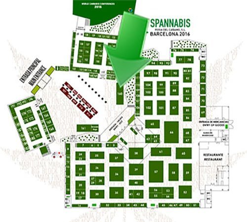 Spannabis Map